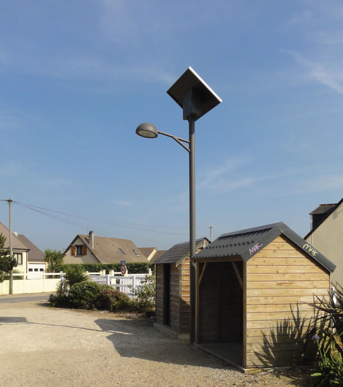 Sl 002 Solar Led Street Light Solux Solar Light Product