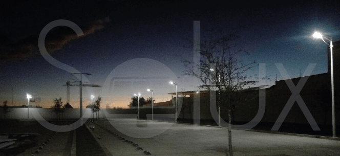 All in One Solar Street Light Solux