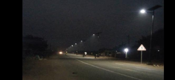 SSLXPRO solar street light Solux project
